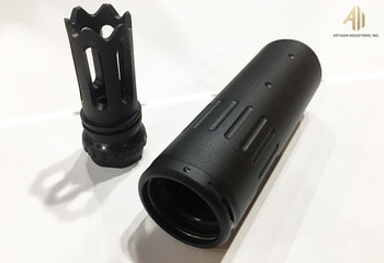 [ACM]ACC silencer, BLACK, For DAS M4GDR-15