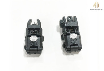 [ACM]Magpul MBUS Style Back-Up Sight Front & Rear Set.